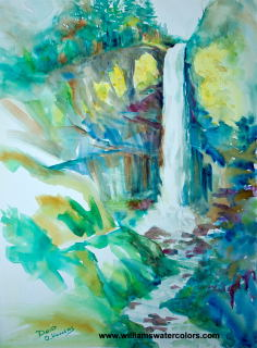 Waterfall - David O. Williams